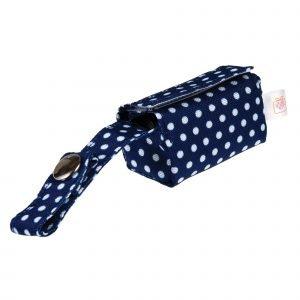 REX bolsas para caca perro blue polka