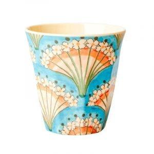 RICE vaso medium flower fan print
