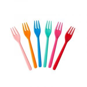 RICE 6 tenedores niños Choose Happy