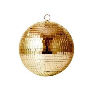 RICE bola disco dorada M