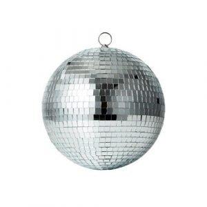 RICE bola disco plateada M