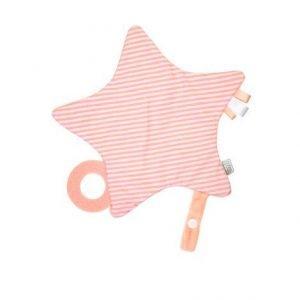 SARO estrellita papel crujiente rosa