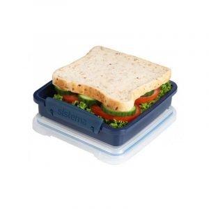 SISTEMA RENEW sandwich box 450ML Navy