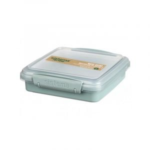 SISTEMA RENEW sandwich box 450ML Sage
