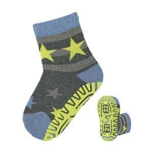 STERNTALER calcetines antideslizantes estrellas antracita