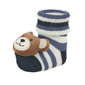STERNTALER calcetines sonajero oso azul