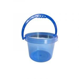 TICKIT set 2 cubos translucidos azul naranja