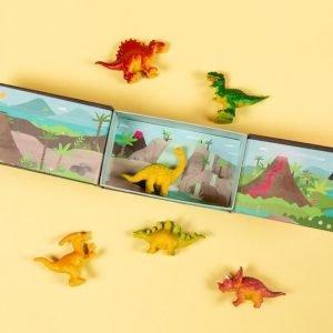 TIGER TRIBE box dinosaurs