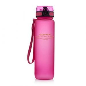UZSPACE botella 800ml frosted rosa
