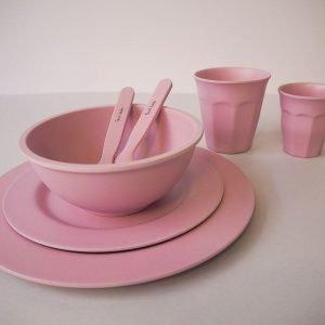 SUIT BEIBI bol bambú Dark Pink