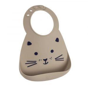 MAKE MY DAY babero silicona gato