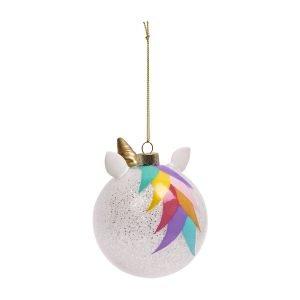 SUNNYLIFE adorno navidad unicornio