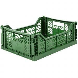 LILLEMOR caja plegable midi verde