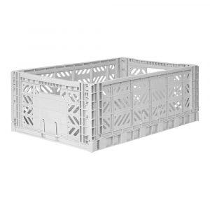 LILLEMOR caja plegable maxi gris claro