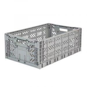 LILLEMOR caja plegable maxi gris oscuro