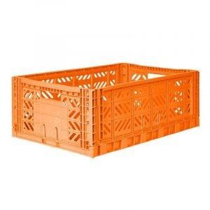 LILLEMOR caja plegable maxi naranja