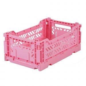 LILLEMOR caja plegable mini rosa baby
