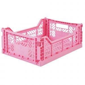 LILLEMOR caja plegable midi rosa baby