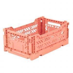 LILLEMOR caja plegable mini salmon