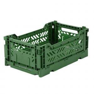 LILLEMOR caja plegable mini verde
