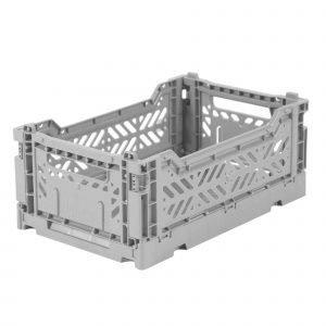 LILLEMOR caja plegable mini gris