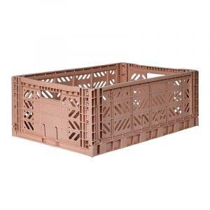 LILLEMOR caja plegable maxi taupe