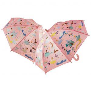 FLOSS AND ROCK paraguas Enchanted