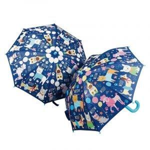 FLOSS AND ROCK paraguas Mascotas