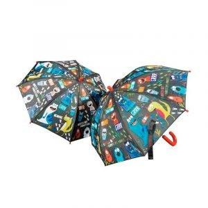 FLOSS AND ROCK paraguas monstruos