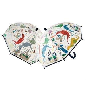 FLOSS AND ROCK paraguas transparente Spell Bound