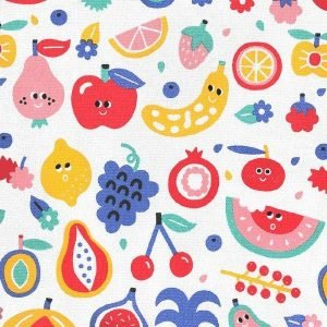 PETIT JOUR mochila solapa velcro Tutti Frutti