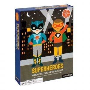 PETIT COLLAGE magnetico Superheroes