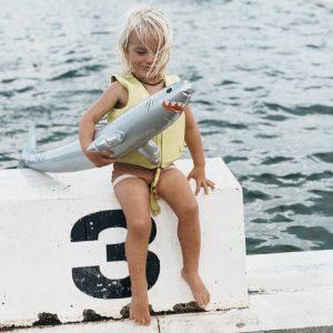 SUNNYLIFE flotador alargado tiburon
