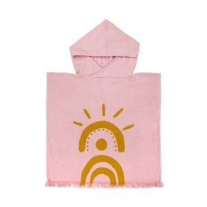 SUNNYLIFE poncho de playa rosa