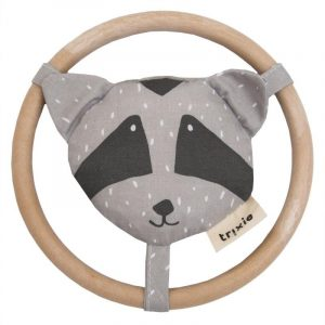 TRIXIE sonajero para niños circulo mapache