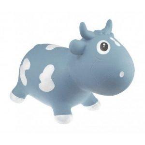 KIDZZFARM vaca hinchable Bella Azul pastel
